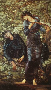 the_beguiling_of_merlin_Sir Edward Burne-Jones